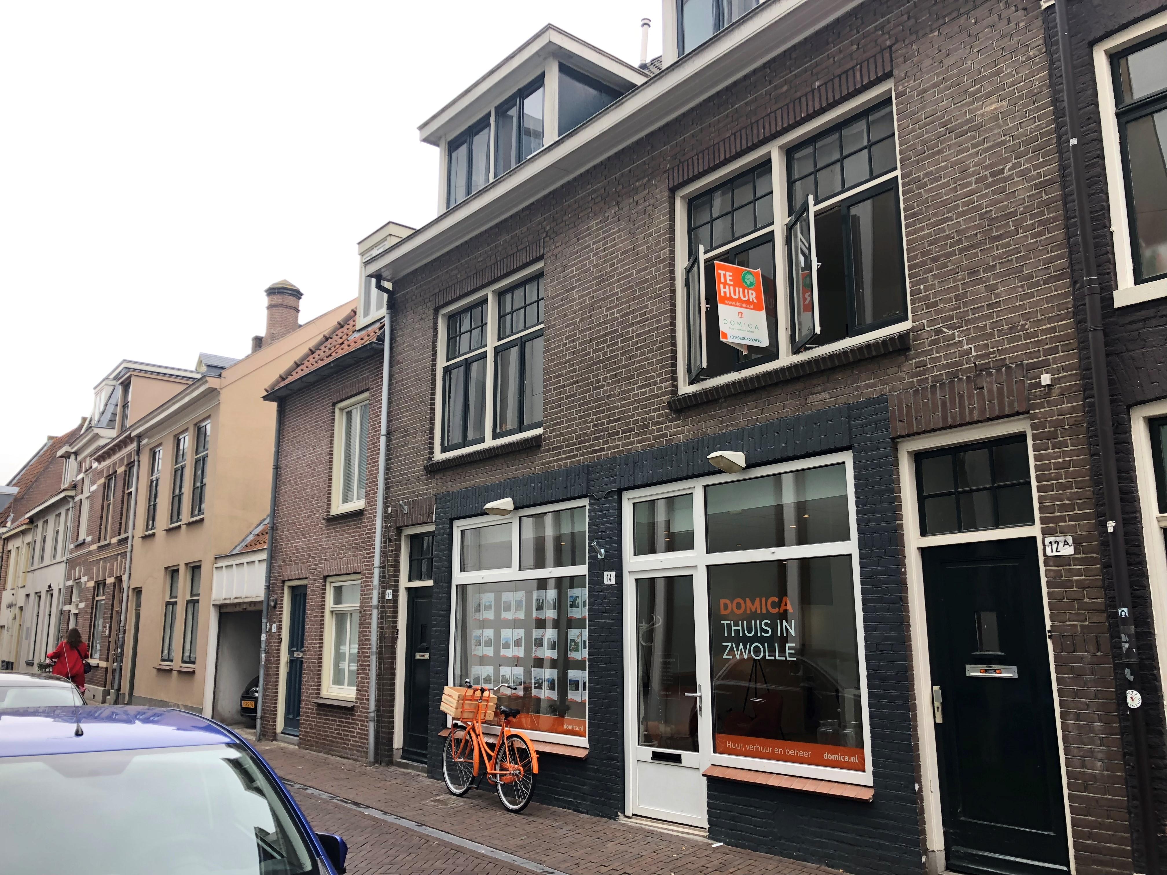 Kamer te huur in de Spoelstraat in Zwolle